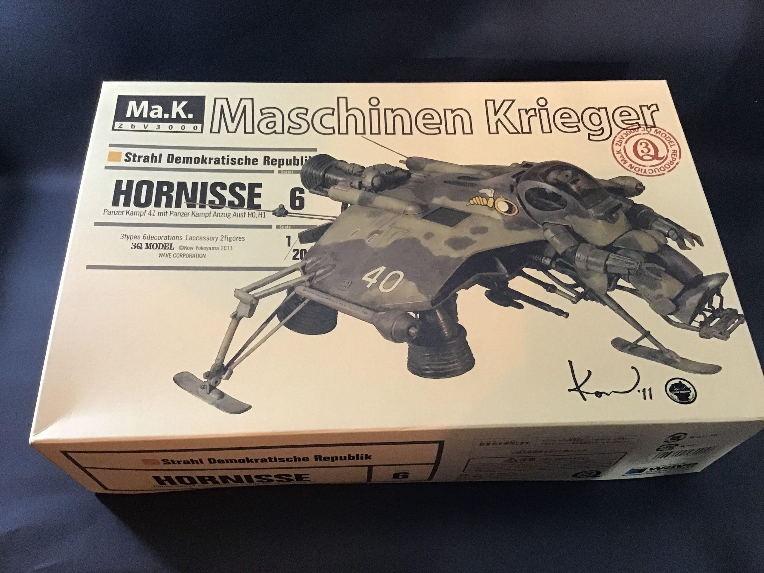 マシーネンクリーガー ホルニッセ